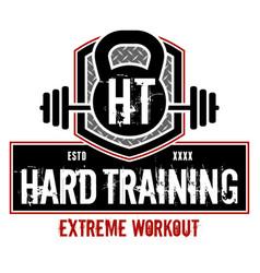 Hard training vector