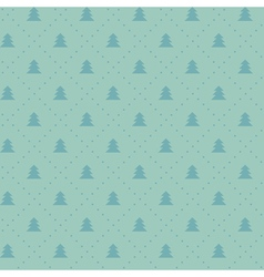 Simple elegant Christmas seamless pattern with vector image vector image