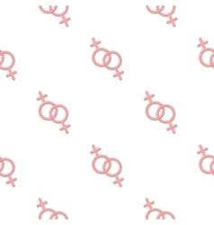 Feminine icon cartoon pattern gay icon from the vector
