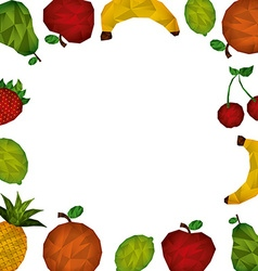 Abstract fruit vector