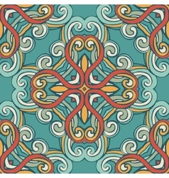 Vintage seamless pattern tile vector