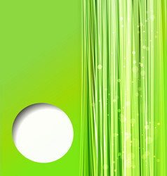abstract colorful green background vector image