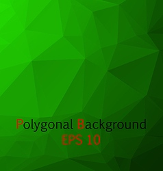 Abstract Polygonal Background vector image vector image