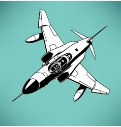 Air fighter vector