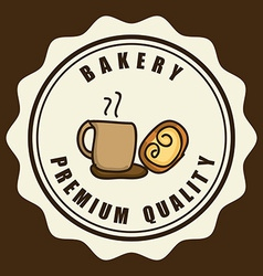 bakery design vector image vector image