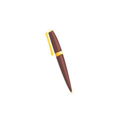 Classic ballpoint pen cartoon vector