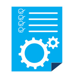 Project management sign project management icon vector