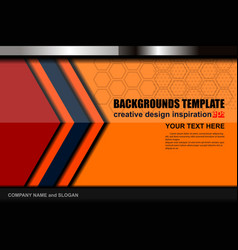 Abstract modern color backgrounds template vector