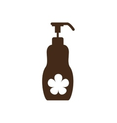 Lotion dispenser icon image vector
