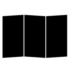 Map the black color icon vector