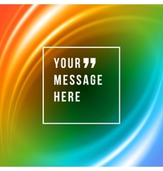 Abstract background and place for quote vector