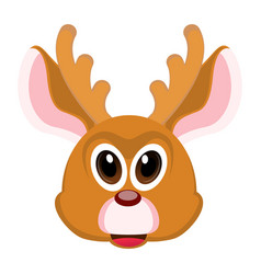 avatar of a reindeer vector image