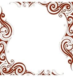 Decorative frame border vector
