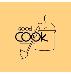 Good Cook vector image vector image
