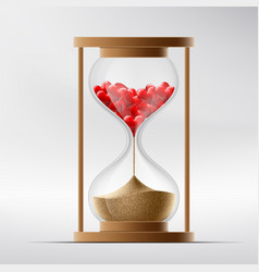 hourglass with human hearts disease a myocardial vector image