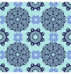 Seamless decorative pattern in oriental style vector image vector image