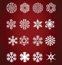 Snowdrop icons vector