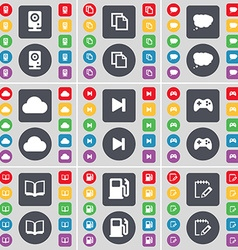Speaker copy chat cloud cloud media skip gamepad vector
