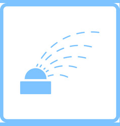automatic watering icon vector image