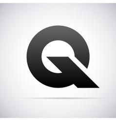 Logo for letter q design template vector