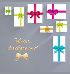 luxury festive cards background vector image