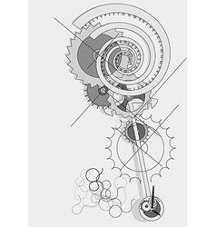 Pendulum concept vector