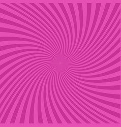 Pink abstract spiral design background vector