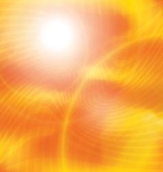 sunlight 1 vector image vector image