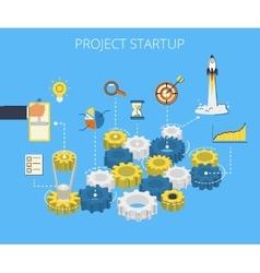 Business start vector