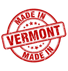 Made in vermont vector