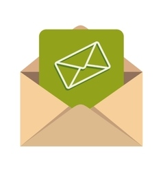Message inbox mail document vector