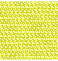 Yellow green ornamental geometric background vector