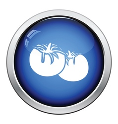Tomatoes icon vector