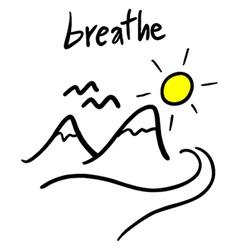 Breathe message vector
