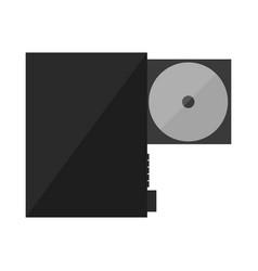 Cd dvd player vector