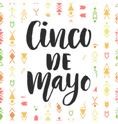 Cinco de mayo mexican holiday poster vector