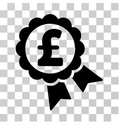 featured pound price label icon vector image