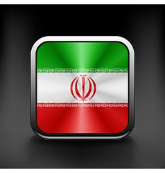 Iran icon flag national travel icon country symbol vector image vector image