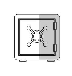 safe box icon vector image