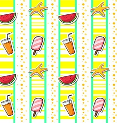 Seamless summer vector image vector image