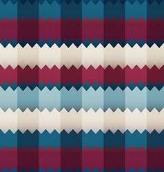 zigzag colored seamless vector image vector image