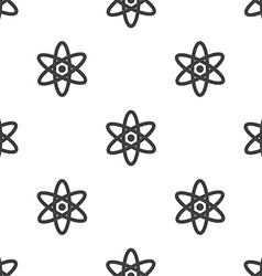 Atom seamless pattern vector