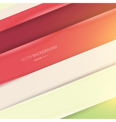 Colourful abstract lines background vector