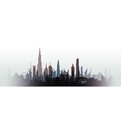 Cityscape blurred vector