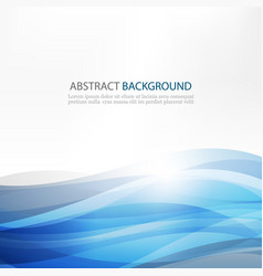 Abstract design creativity background of blue vector