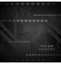 Dark hi-tech background vector
