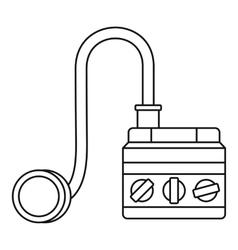 Detonator icon outline style vector