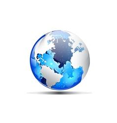 Earth blue vector