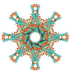 Mazaika kaleidoscope vector