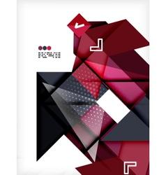 Hi-tech futuristic modern background vector image